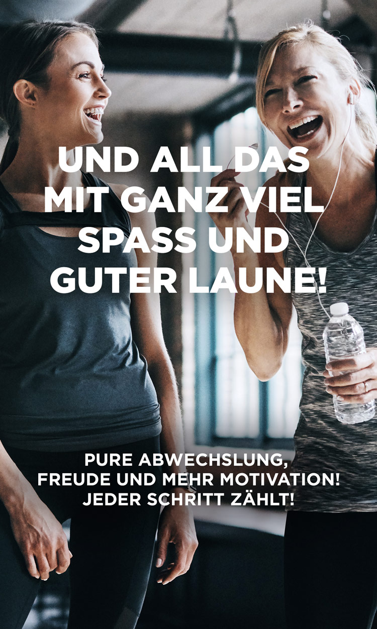 Anytime Fitness Germany Spass Abwechslung Motivation Hoch