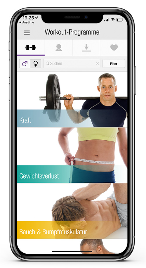 Anytime Fitness Germany Workout App 3