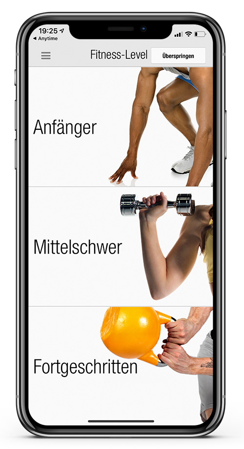Anytime Fitness Germany Workout App 2